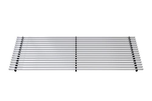 Kratka wzdłużna profil zatrzaskowy (aluminium naturalne)  do VKN1