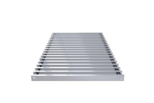 Kratka zwijana profil zamknięty (aluminium naturalne)  do VKN5-75-90