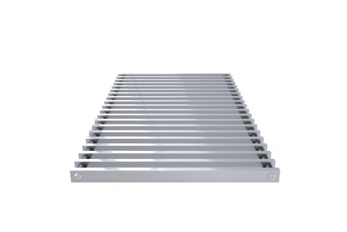 Kratka zwijana profil zamknięty (aluminium naturalne)  do VKN5-10 Silent